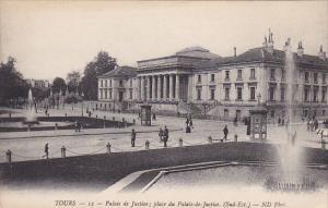 Palais De Justice; Place Du Palais-de-Justice, Tours (indre et Loire), France...