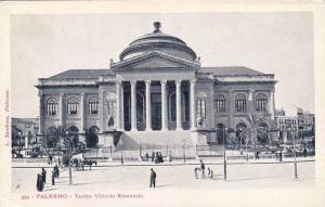 Teatro Vittorio Emanuele, Palermo (Sicily), Italy, 1900-1910s