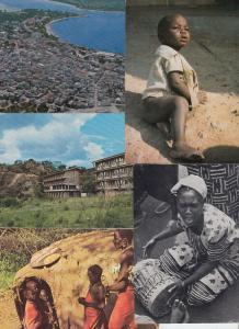 TANZANIA 32 AFRIQUE Cartes Postales 1960-1990.