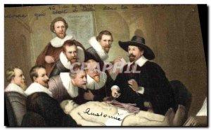 Old Postcard Rijksmuseum Amsterdam Rembrandt van Rijn