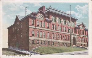 High School, ST. JOHN, New Brunswick, Canada, PU-1934