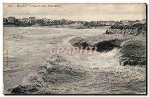 Royan - Big Sea has Pontaillao - Old Postcard