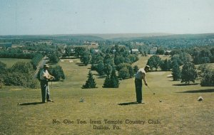 DALLAS , Pennsylvania , 1958 ; Golf No.1 Tee , Country Club