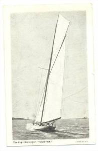 The Cup (America´s Cup) Challenger, AHAMROCK, 1890s-1905 Sailing Vessel race