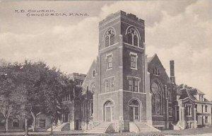 Kansas Concordia M E Church Albertype