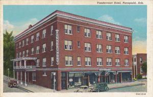 Arkansas Paragould Vandervoort Hotel Curteich
