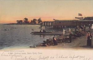 Bathing Scene Savin Rock Connecticut 1908