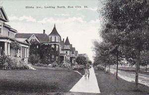 Illinois Zion City Elisha Avenue Looking North