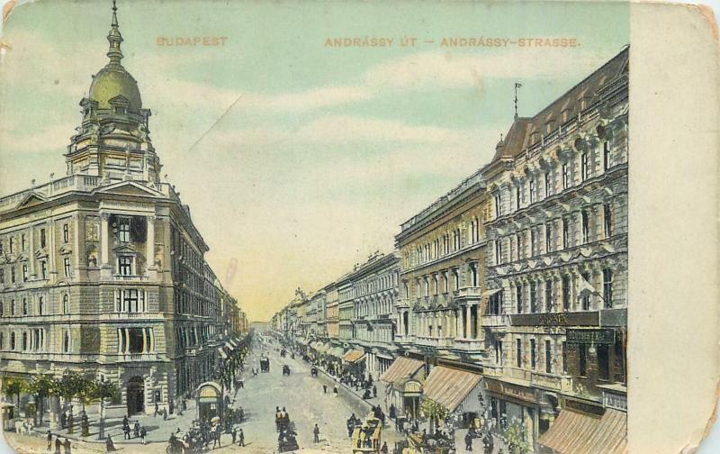 Hungary Budapest Andrassy ut
