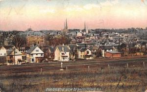 Birds Eye View Middletown, New York Postcard