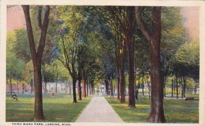 Michigan Lansing Third Ward Park 1918