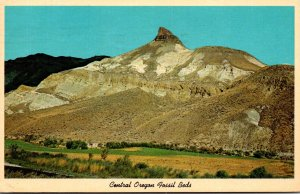 Oregon John Day Fossil Beds State Park Sheep Mountain 1976