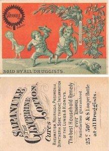 Victorian Trade Card Approx size inches = 2.75 x 4 Pre 1900 minor wear right ...