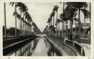 brazil, RIO DE JANEIRO, Canal do Mangue (1940s) RPPC