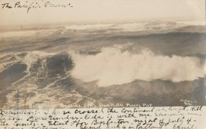 RP: SEASIDE , Oregon, 1907 ; Pacific Ocean ; WOODFIELD Photo