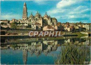 Modern Postcard Perigueux (Dordogne) The Banks of the Isle La Basilique Saint...