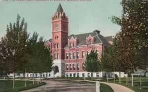 MISSOULA , Montana , 00-10s; Univesity Hall, University of Montana