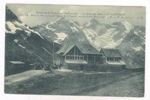 La Route Des Alpes, Le Lautaret, La Meije Et Le Glacier De l'Homme Vus Du Cha...