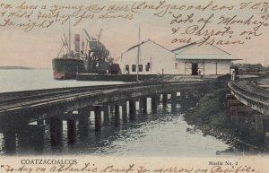COATZACOALCOS , MEXICO , 1908 ; Muelle No.2