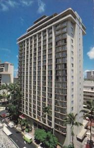 Hawaii Honolulu Outrigger Waikiki Tower 1993