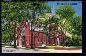 St Mary's Church,Greeville,SC