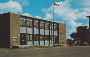 Exterior, Federal Building, Sussex, N.B.,  Canada, 40-60s