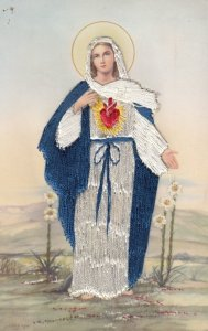Embroidered Mary 1930s