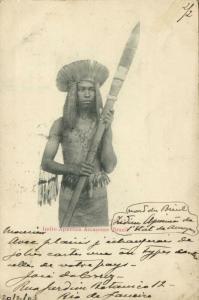 brazil, Indio Apurima Amazonas Native Indian (1903) Stamp