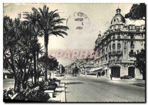 Postcard Modern Nice Promenade Entree of Angalais Hotel Ruhl