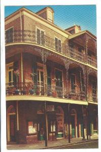 Delicate Lace Balconies, New Orleans, Louisiana,  40-60s