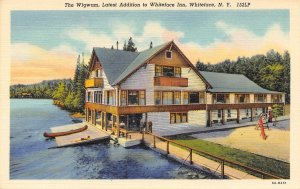 The Wigwam Whiteface Inn Whiteface New York 152LP linen postcard