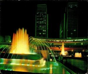 CI01274 venezuela caracas simon bolivar center diego ibarra square fountain