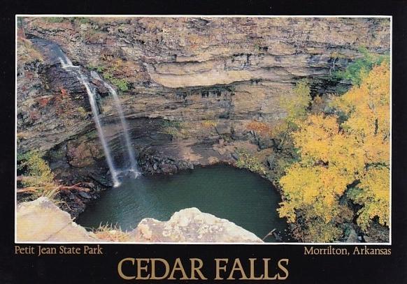 Cedar Falls Petit Jean Park Morrilton Arkansas