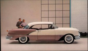 Car Auto Oldsmobile 88 Holiday Coupe Fall River MA Everett Motors 1956 PC #2