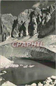 Postcard Modern Lago Gelato al Piz Boe (Cruppo Sella)