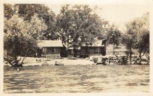 RPPC MILLIGAN'S RESORT Clearlake Highlands Lake County, CA 1928 Vintage Postcard