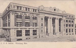 C.P.R. Station , WINNIPEG , Manitoba , Canada , PU-1908