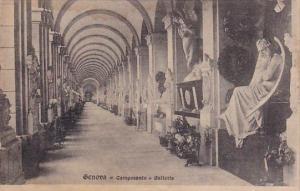 Italy Liguria Genova Camposanto Galleria