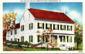 Virginia The Old Lincoln Homestead Near Harrisonburg