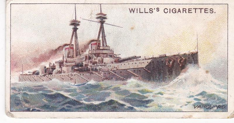 Cigarette Card Wills The World's Dreadnoughts (1910) No. 2