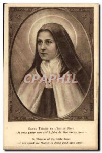 Postcard Old St. Therese of the Child Jesus