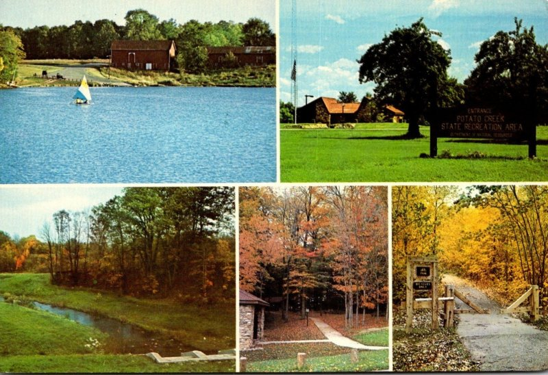 Indiana North Liberty Potato Creek State Recreation Area  Multi View