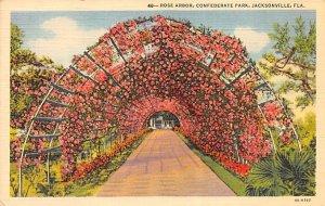 Confederate Park Rose Arbor Jacksonville FL