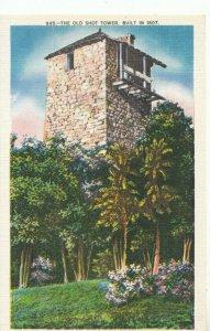 America Postcard - The Old Shot Tower Between Hillsville & Wytheville Ref TZ7698