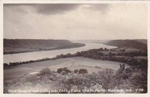 RP, Ohio River From Clifty Inn Falls State Park, Madison, Indiana, PU-1953