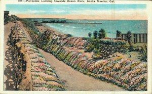 USA - Palisades Looking towards Ocean Park Santa Monica California 03.93