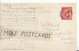 Genealogy Postcard - Hunt - Rosemont, 98 Serington Rd, Hendon, London  Ref 6801A