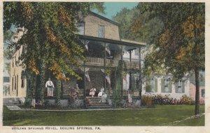 BOILING SPRINGS , Pennsylvania , 1919 ; Boiling Springs hotel