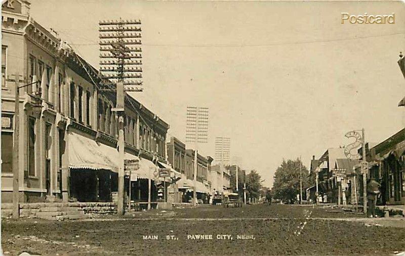 Pawnee City Nebraska >> Ne Pawnee City Nebraska Main Street F S Colwell Drugs