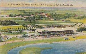 Florida Hallandale Air View Of Gulfstream Race Track U S Highway No 1 Hallandale